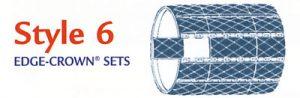 style 6 edge-crown sets